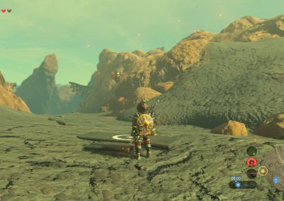 Chemin vers la mine du sud en passant par la falaise