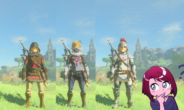Zelda Breath of the Wild – Guide des armures n°1