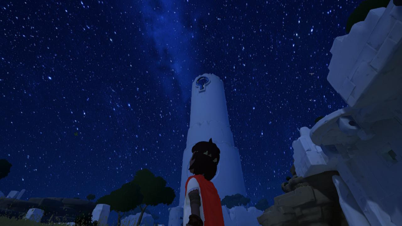 Rime - Tour blanche dans le nuit