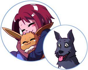 Yunicia et Inuki