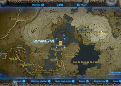 Carte situation du Mont de la Foudre