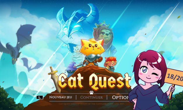 Test de Cat Quest sur Switch