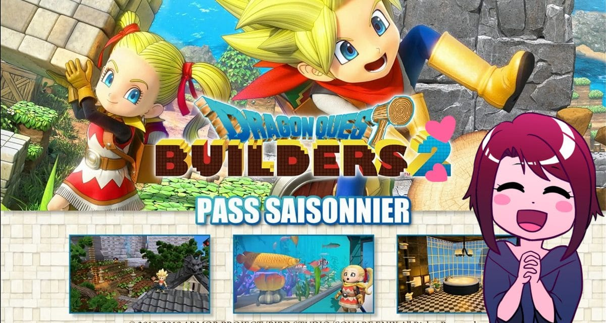 Sortie imminente de Dragon Quest Builders 2