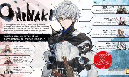 Infos Oninaki et DLC gratuit DQB2