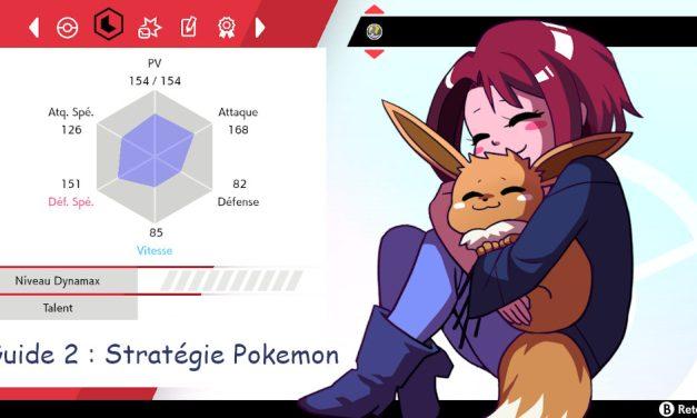 Guide 2 : Stratégie Pokemon – les statistiques de l'espèce