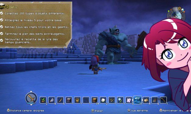 Dragon Quest Builders : défis du chapitre 3