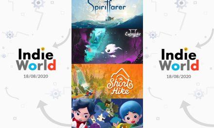 Mon récap de l'Indie World de Nintendo du 18 août 2020