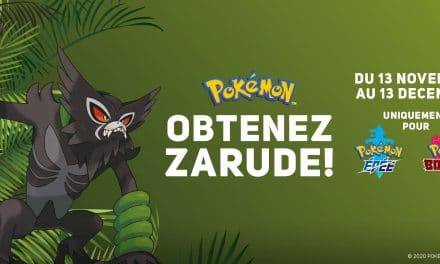 Distribution de Zarude via internet !
