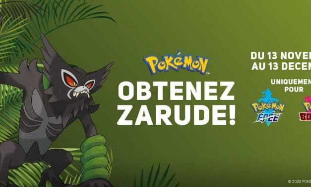 Distribution de Zarude via internet !